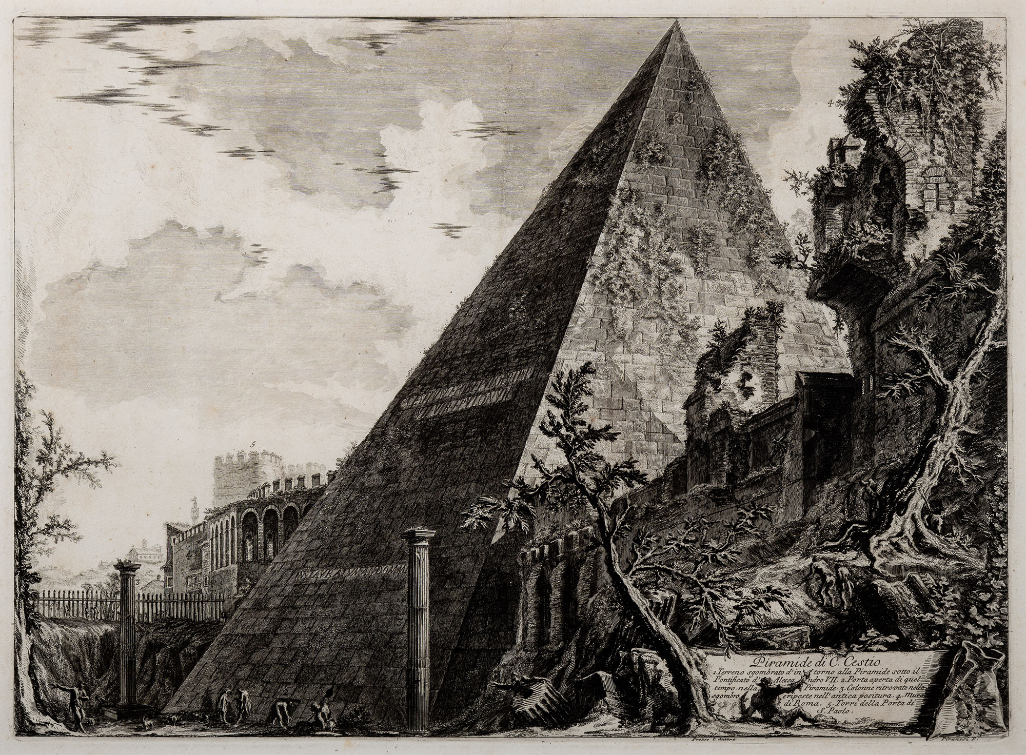 7. Piramide di C. Cestio