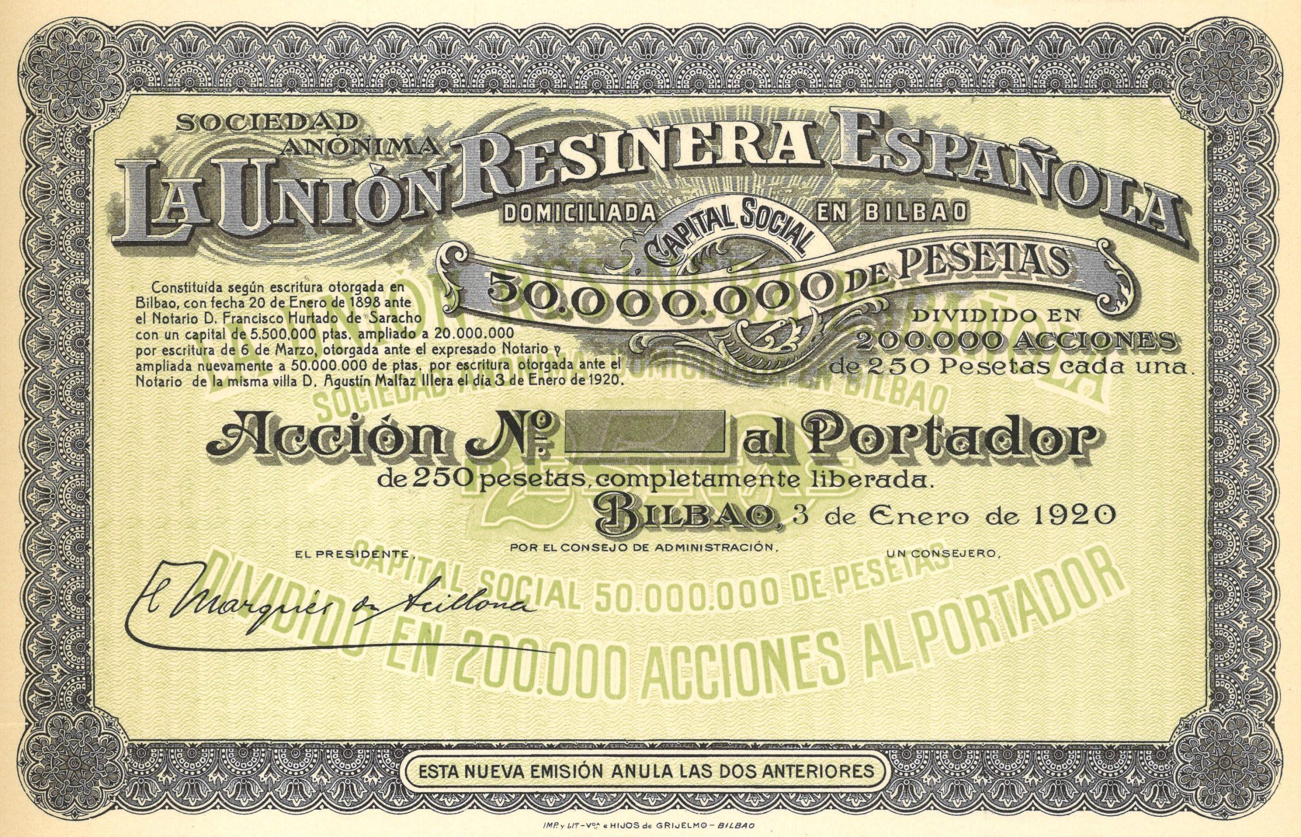 La Unión Resinera Española