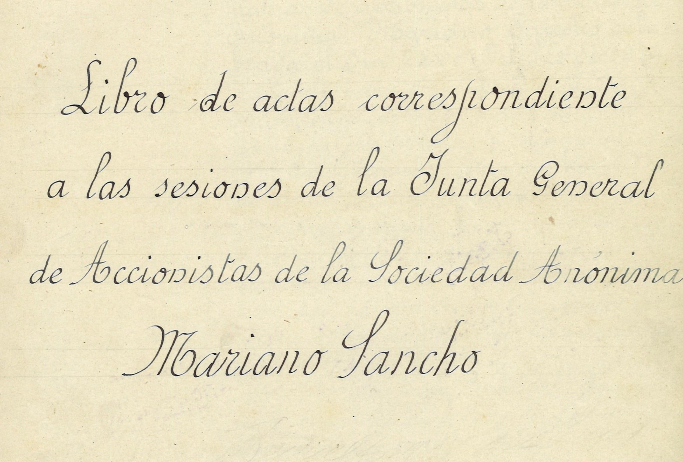 Mariano Sancho, S.A.
